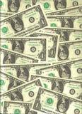 U.S. dollar bankbiljetten Royalty-vrije Stock Foto