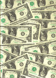 U.S. dollar banknotes Royalty Free Stock Photo