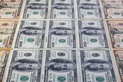 U.S.dollar banknotes Royalty Free Stock Image