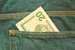 U S Dollar 20-Dollar - Schein Stockfotos
