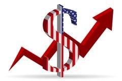 U.S. dollar stock illustration