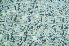 U S Dollar Viele Banknoten Lizenzfreies Stockbild