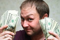 U.S. dollars Stock Image