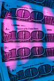 U.S. dollars bills. Detail Stock Photography