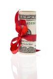 U.S. dollars de billets de banque Images stock