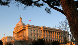U.S. Edificio del capitolio Fotografía de archivo libre de regalías