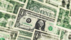 U S Ein Dollarscheinhintergrund vektor abbildung
