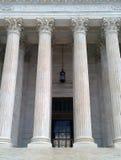 U S Eingang des Obersten Gerichts lizenzfreie stockbilder