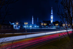U S Espaço e Rocket Center Huntsville, AL com Imagens de Stock Royalty Free