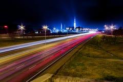 U S Espaço e Rocket Center Huntsville, AL com Imagem de Stock