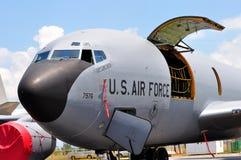 U.S.A.F. 2010 för nivå för airshowboeing last militärt Royaltyfria Bilder