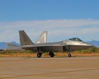 U.S.A.F. do avião de combate da ave de rapina F-22 de Lockheed Martin F-22A Fotos de Stock