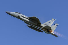 U.S.A.F.F-15 Eagle Imagenes de archivo
