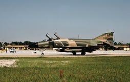 U.S.A.F. McDonnell F-4C 64-0655 av flygvapenreserven Fotografering för Bildbyråer