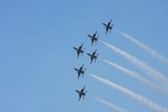 U.S.A.F. Thunderbirds Foto de Stock
