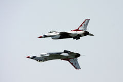 U.S.A.F. Thunderbirds Royalty Free Stock Photos