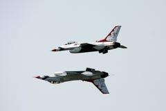U.S.A.F. Thunderbirds Royalty-vrije Stock Foto's