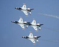 U.S.A.F.Thunderbirds stockbilder