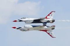 U.S.A.F.-Thunderbirds Royaltyfria Bilder