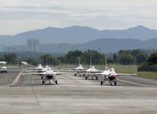 U.S.A.F.Thunderbirds airshow lizenzfreies stockbild