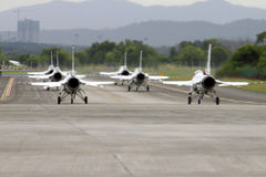 U.S.A.F.Thunderbirds airshow Lizenzfreie Stockfotografie