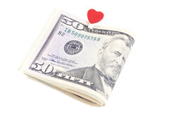 U.S. fifty dollars Stock Photos