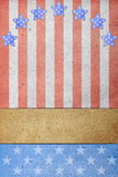 U.S.A. Flag paper Stock Photography
