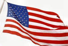 U.S. Flag1 Fotografia de Stock Royalty Free