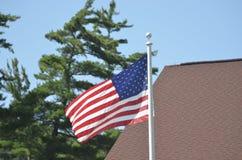 U S flagga Fotografering för Bildbyråer