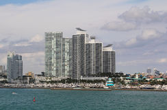 U.S.A., FloridaMiami - costa atlantica Immagine Stock Libera da Diritti