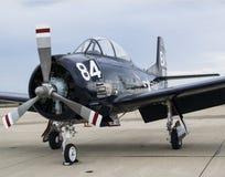 U S Flygplan för marin T-34 fotografering för bildbyråer