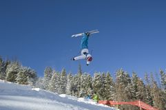 U.S.A. Freestyle Competition Stock Image