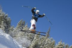U.S.A. Freestyle Competition Stock Photography