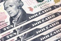 U.S. Geld Stockfotografie