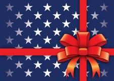U.S. Gift stylized background Stock Image