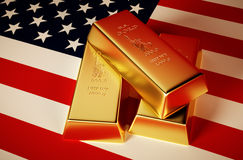 U.S. gold Stock Photos