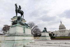 U.S. Grant Statue Royalty Free Stock Images