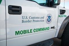 U S Gränsbevakningmedel Arkivbild