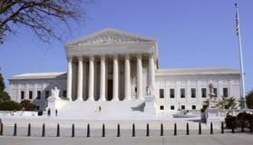 U S Högsta domstolenbyggnad, Washington, DC Royaltyfri Foto