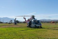 U S Helicóptero do falcão do preto de Sikorsky UH-60 do exército Fotos de Stock