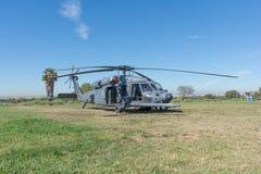 U S Helicóptero do falcão do preto de Sikorsky UH-60 do exército Fotografia de Stock Royalty Free