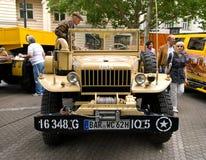 U.S. helles Militär-LKWas rasches Ausweichen WC-51 lizenzfreie stockfotografie