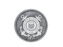 U S Het officiële zegel van kustgrard Stock Fotografie