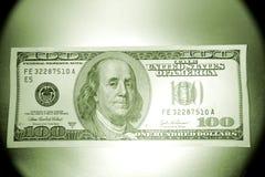 U.S. Honderd dollarsrekening    Royalty-vrije Stock Afbeeldingen
