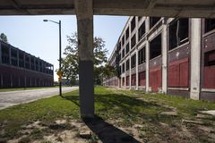 U.S.A. - Il Michigan - Detroit fotografie stock libere da diritti