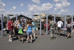 U.S.A. 2014 il più skyfest Immagini Stock