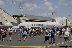 U.S.A. 2014 il più skyfest Fotografia Stock
