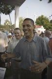 U.S. Il senatore Barak Obama Immagine Stock Libera da Diritti