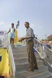 U.S. Il senatore Barak Obama Fotografia Stock
