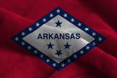 U S Indicador del estado de Arkansas foto de archivo libre de regalías